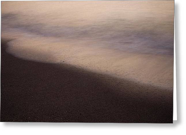 Waves Greeting Card by Bradley R Youngberg