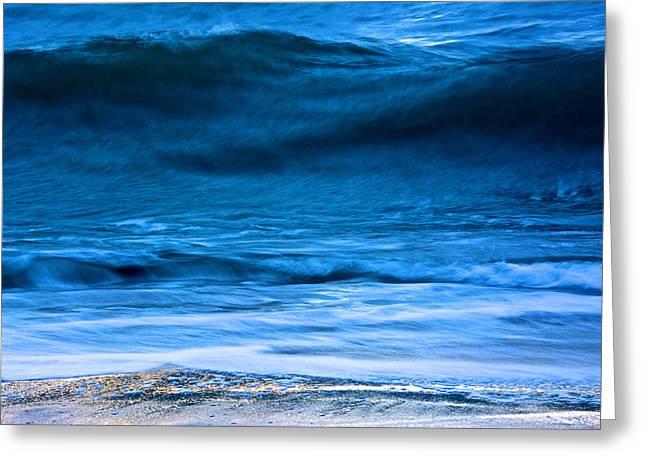Waves Greeting Card by Kathi Isserman