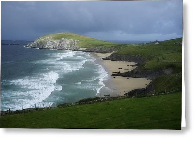 Waves Ring Of Dingle Greeting Card