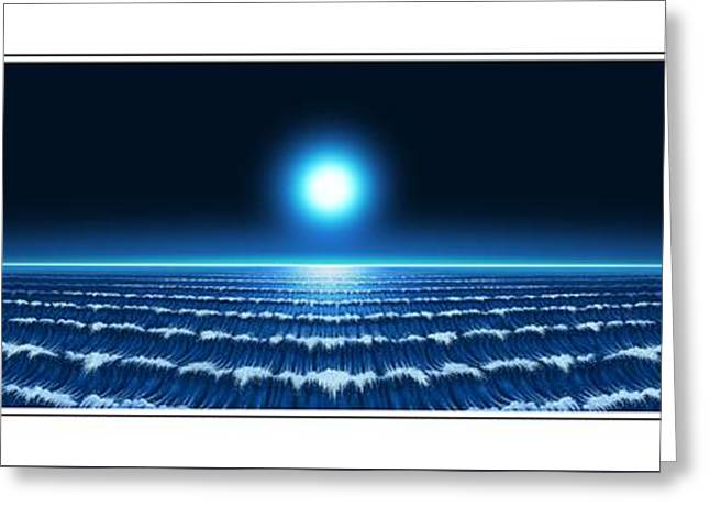 Waves Greeting Card