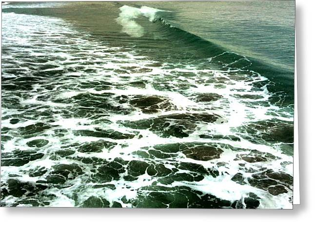 Waves Greeting Card by Susi Manners