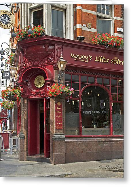 Waxy's Little Sister Pub Greeting Card