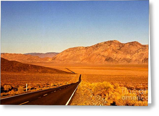 Way Open Road Greeting Card