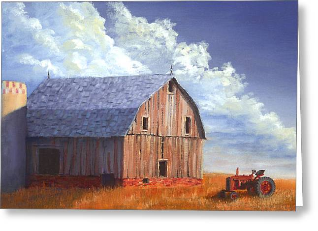 Way Out West Greeting Card by Jerry McElroy