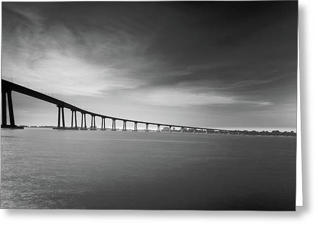 Way Over The Bay Greeting Card