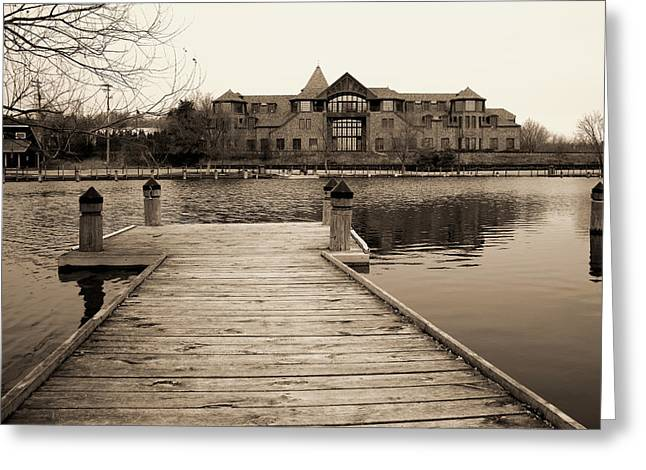Wayzata Dock Greeting Card