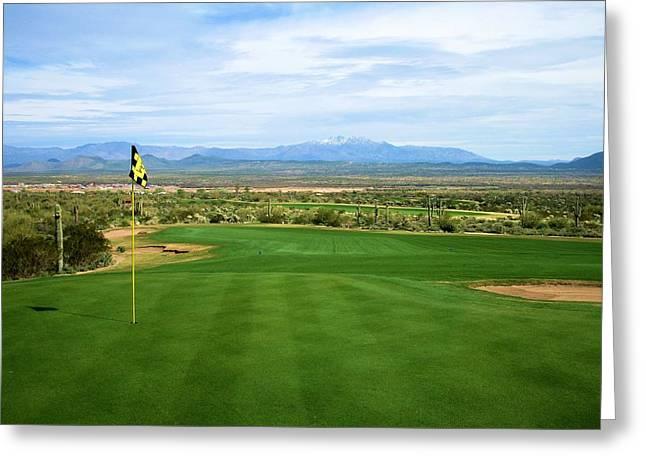 We-ko-pa Golf Club Greeting Card