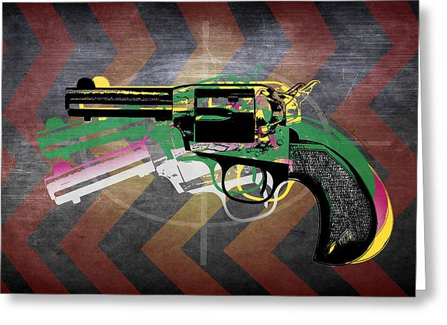 Weapons  Greeting Card by Mark Ashkenazi