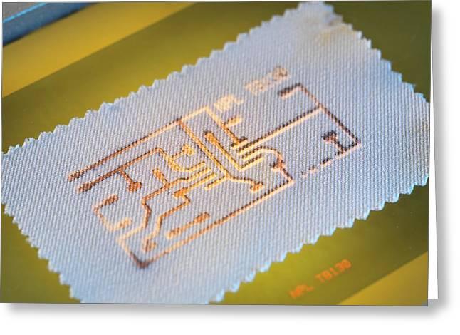 Wearable Electronics Greeting Card
