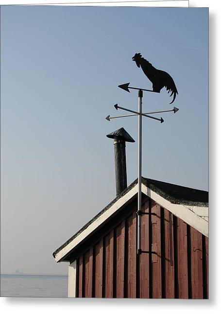 Weathercock Malmo Europe Greeting Card