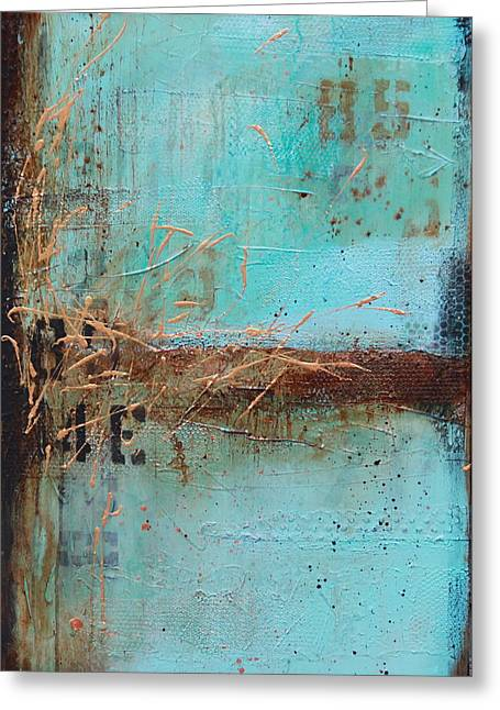 Weathered # 10 Greeting Card