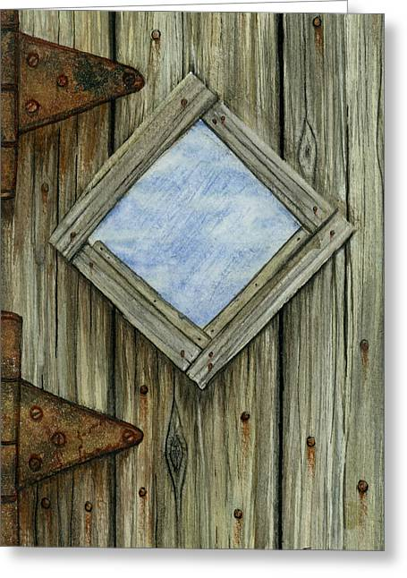 Weathered #2 Greeting Card