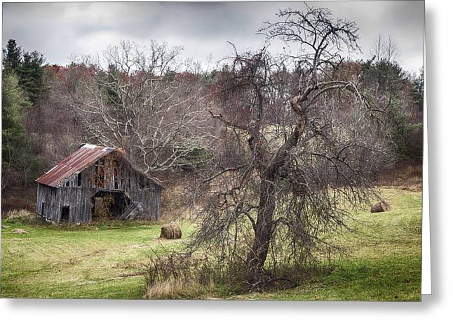 Weathered Greeting Card by Alan Raasch