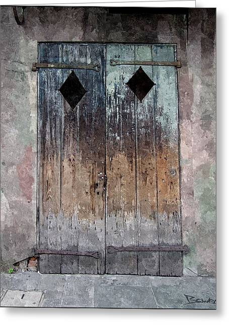 Weathered Or Not Greeting Card