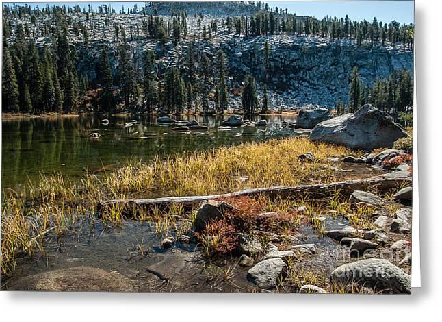 Weaver Lake- 1-7692 Greeting Card
