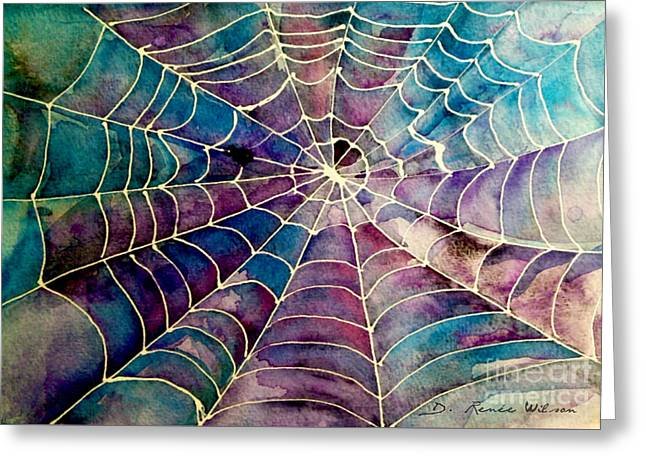 Web Greeting Card by D Renee Wilson