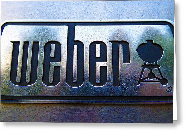 Weber Greeting Card by Laurie Tsemak