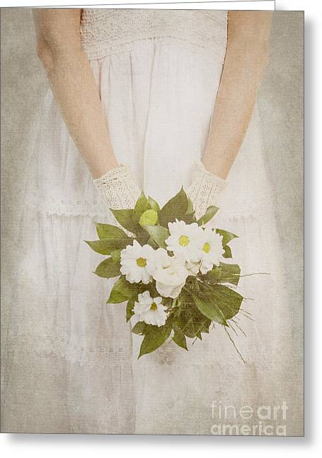 Wedding Bouquet Greeting Card by Jelena Jovanovic