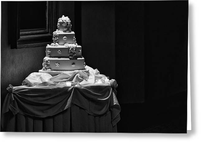 Wedding Cake Greeting Card by Rick Berk