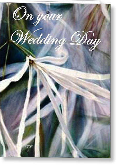 Wedding Flower Greeting Card