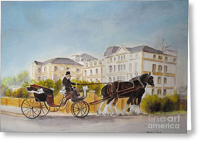Wedding Imperial Hotel Hythe Greeting Card