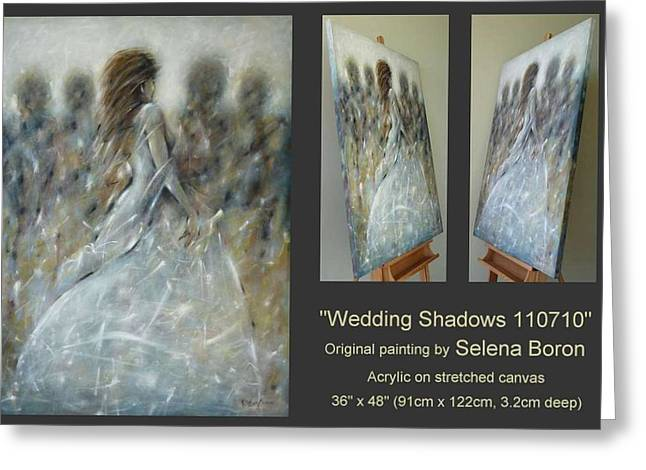 Wedding Shadows 110710 Greeting Card