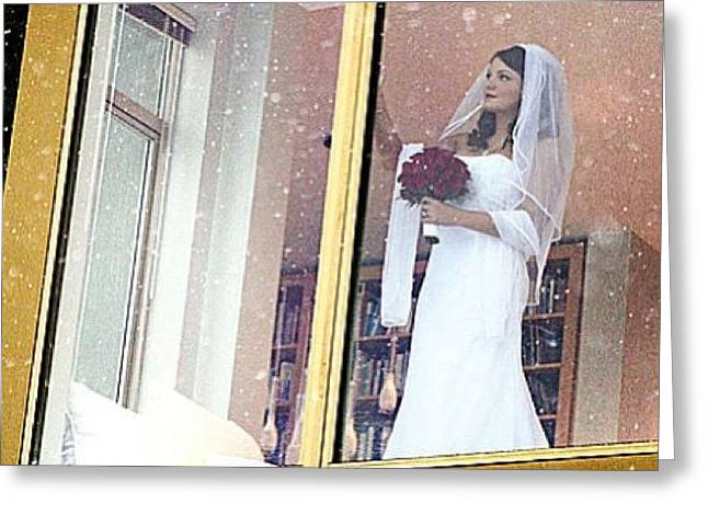 #weddings #weddingphotography #bride Greeting Card