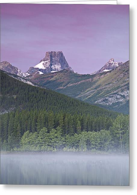 Wedge Pond And The Fortress Greeting Card