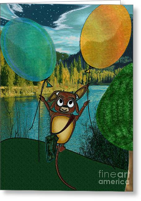 Weeeeeeee Greeting Card