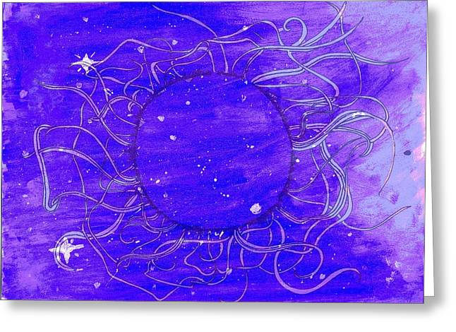 Mystic Greeting Card by Betzy Mena
