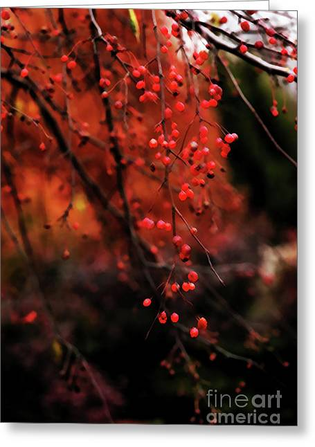 Greeting Card featuring the photograph Weeping by Linda Shafer