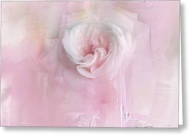 Weeping Rose Greeting Card