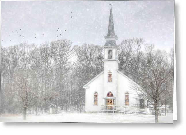 Weishample Church Greeting Card by Lori Deiter