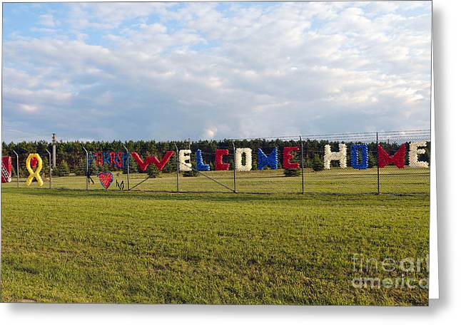 Greeting Card featuring the photograph Welcome Home by Gina Savage