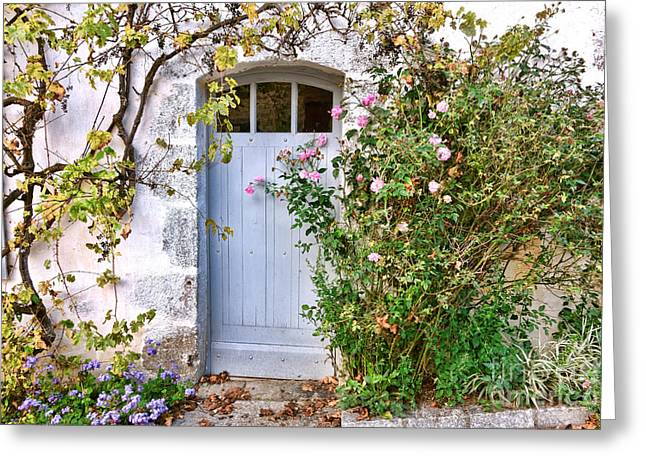 Bienvenue A La Maison  Greeting Card
