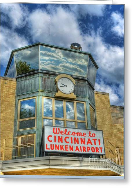 Welcome To Cincinnati 2 Greeting Card by Mel Steinhauer