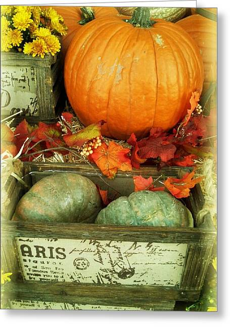 Welcome To Fall Greeting Card