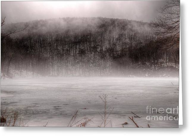 Welcome To Ghost Lake Greeting Card by Jeffrey Miklush