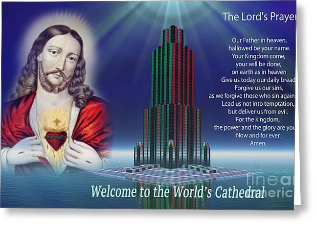 Come Pray With Me In The World's Cathedral Greeting Card