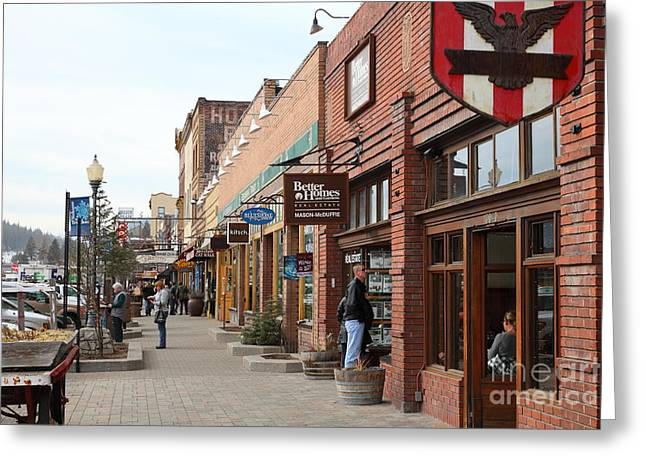 Welcome To Truckee California 5d27445 Greeting Card by Wingsdomain Art and Photography