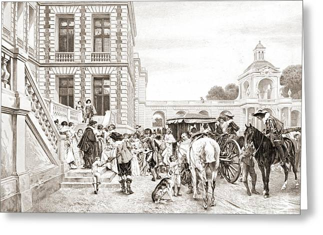 Welcome Visitors 1904 Greeting Card by Padre Art