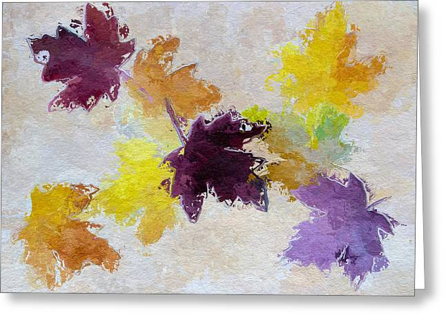 Welcoming Autumn Greeting Card by Heidi Smith