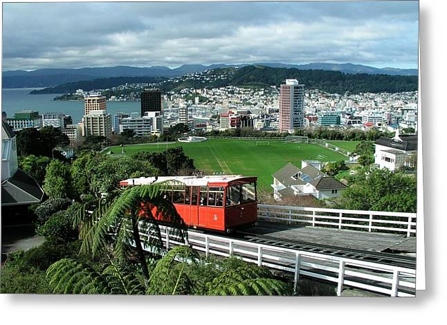 Wellington Greeting Card by David and Mandy