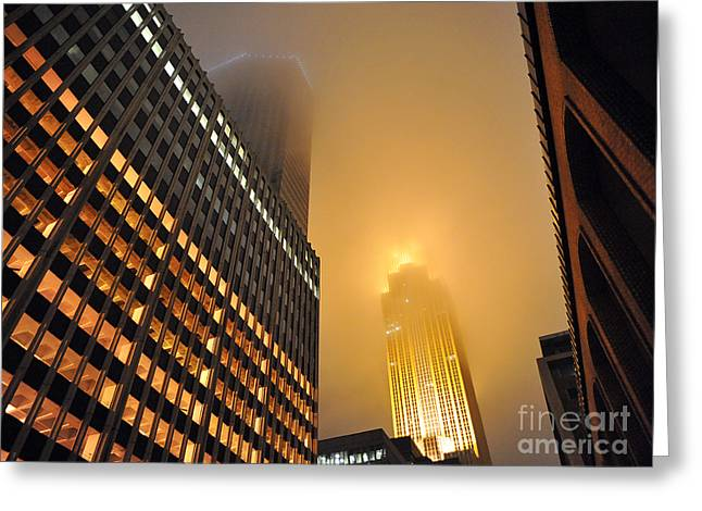 Wells Fargo Center - Minnesota Greeting Card by Graham Taylor