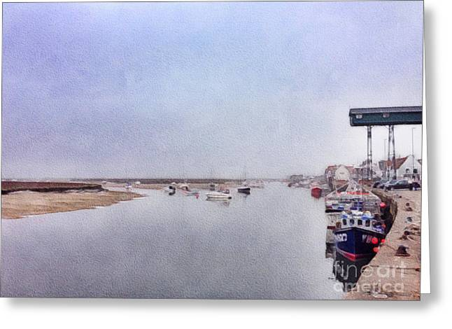 Wells Next The Sea Norfolk Uk Greeting Card