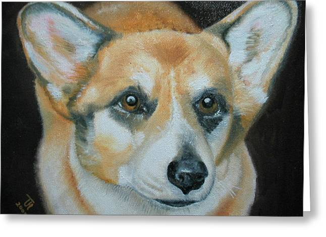 Welsh Corgi Greeting Card