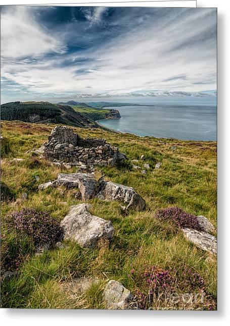 Welsh Peninsula Greeting Card by Adrian Evans