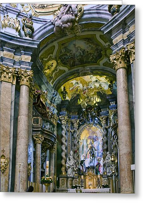 Weltenburg Abbey  II Greeting Card