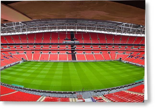 Wembely Stadium Greeting Card