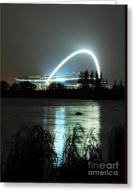 Wembley London Greeting Card